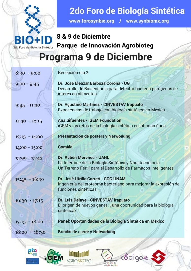 Programa 2do Foro de Biología Sintética (1)