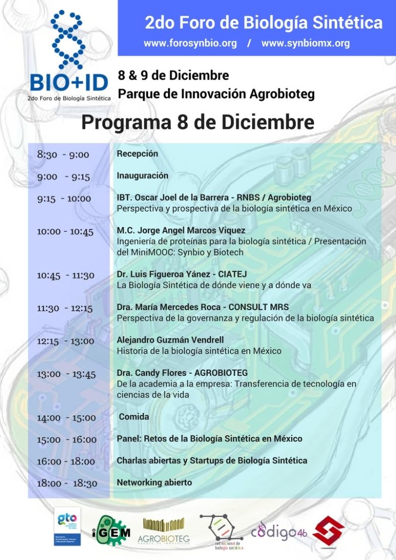 Programa 2do Foro de Biología Sintética (2)